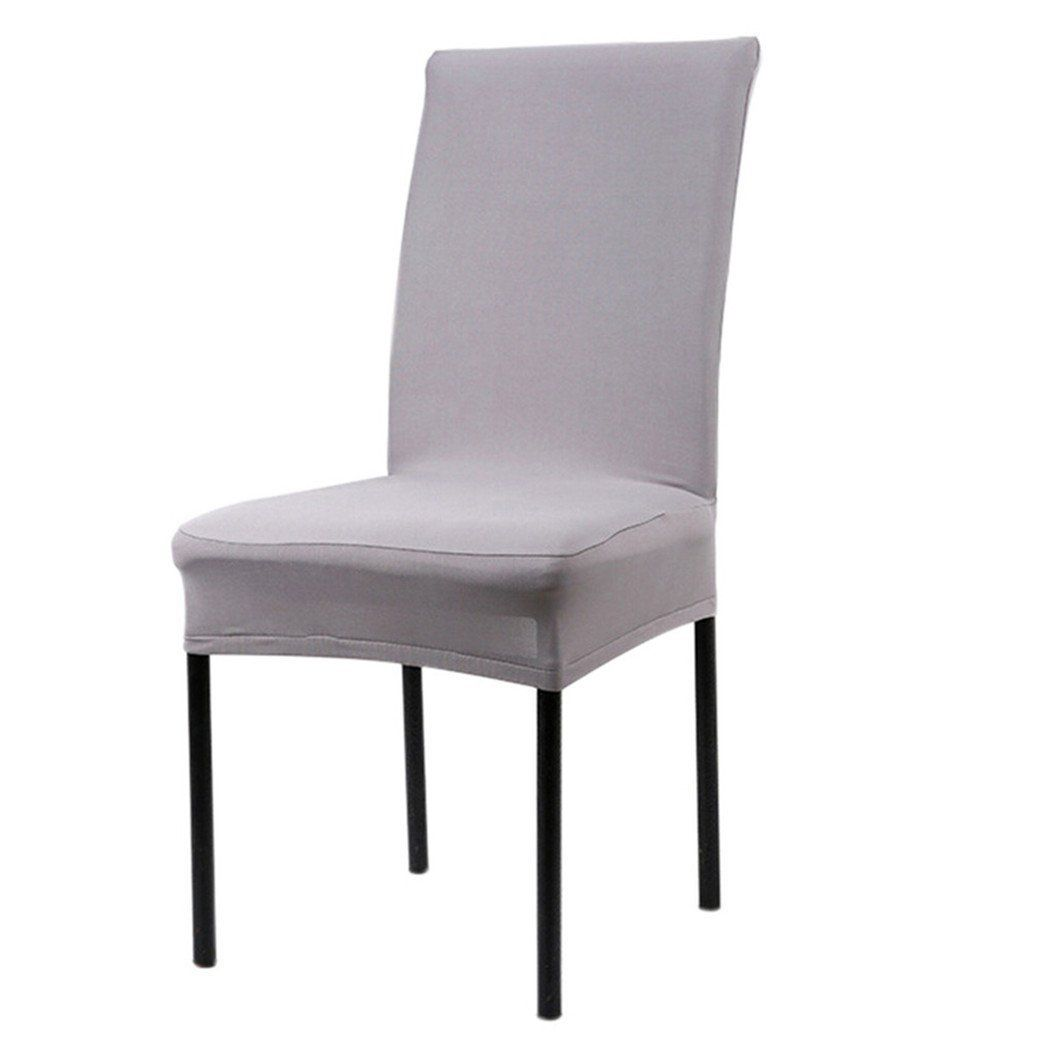 Bodhi2000 Stretch Short Removable Dining Room Chair Protector Seat Alluring Dining Room Chair Protective Covers Inspiration