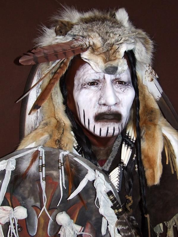 Crow Dog Native American Style Spirit Mask by Cindy Jo ...