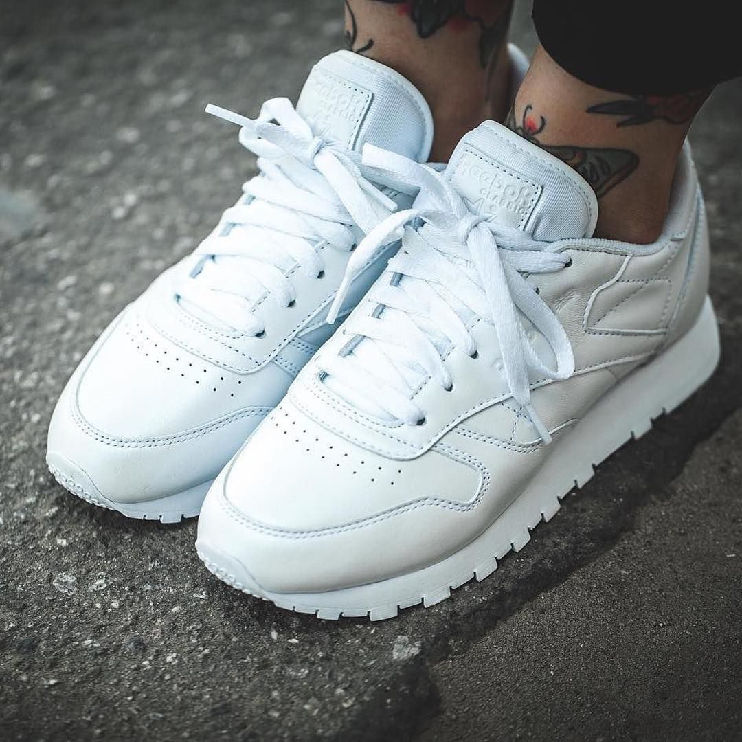 Reebok Baskets Classic Leather Pearlized Blanc aZr1FFVjfo