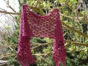 Summer crochet and knit shawls - free patterns