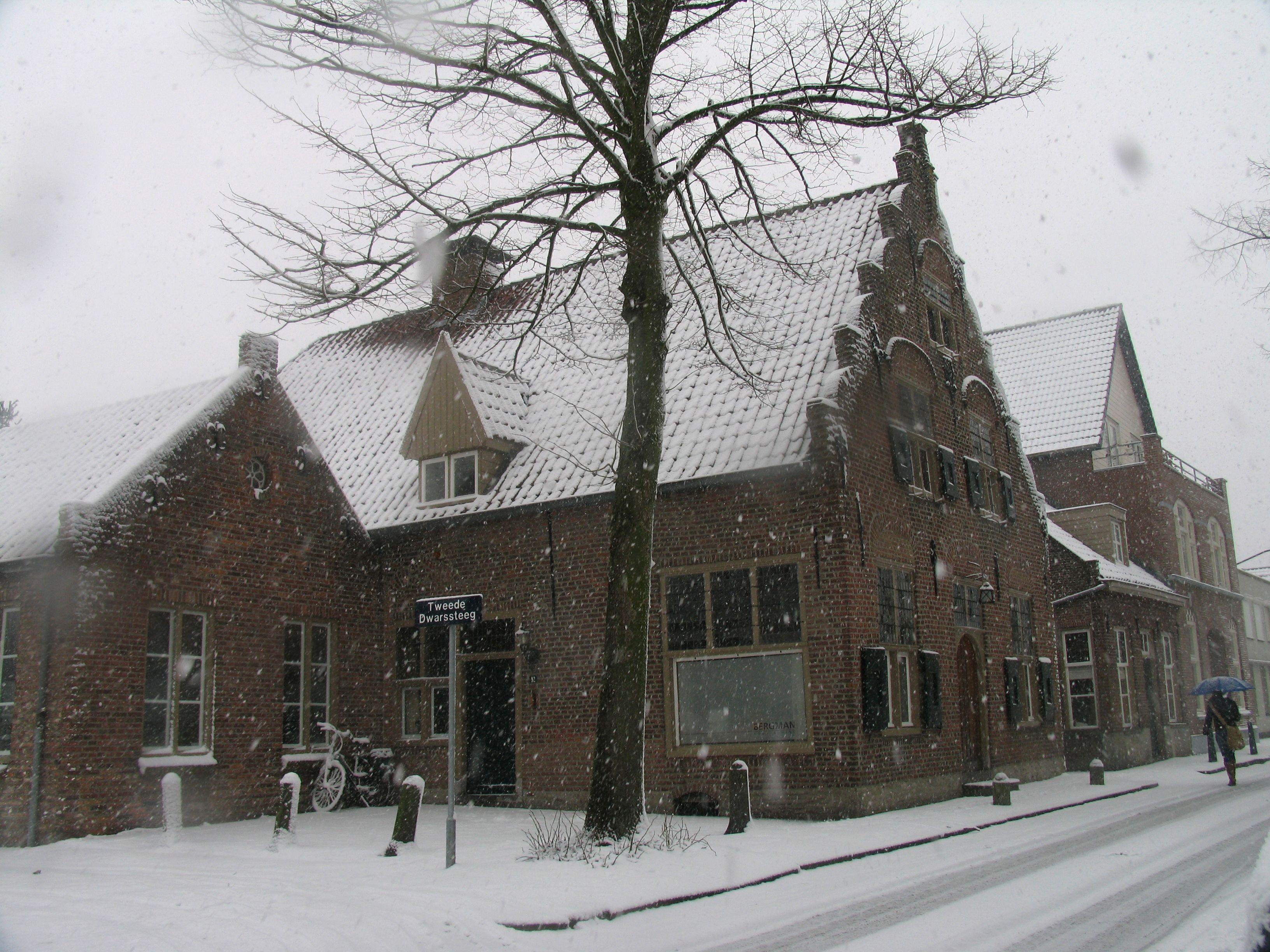 Het oudste huis (1633) in Het Oisterwijk.