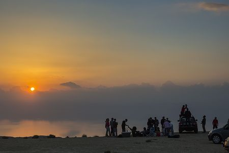 Dead Sea Picnic Photo by Bashar Alaeddin -- National Geographic Your Shot