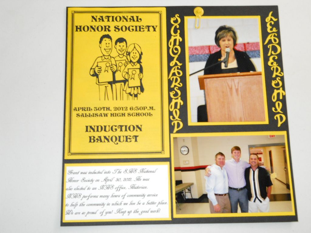 best ideas about national honor society national honor society induction banquet page1