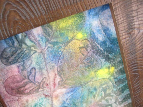 Rainbow Leaves by SoulfulArt on Etsy