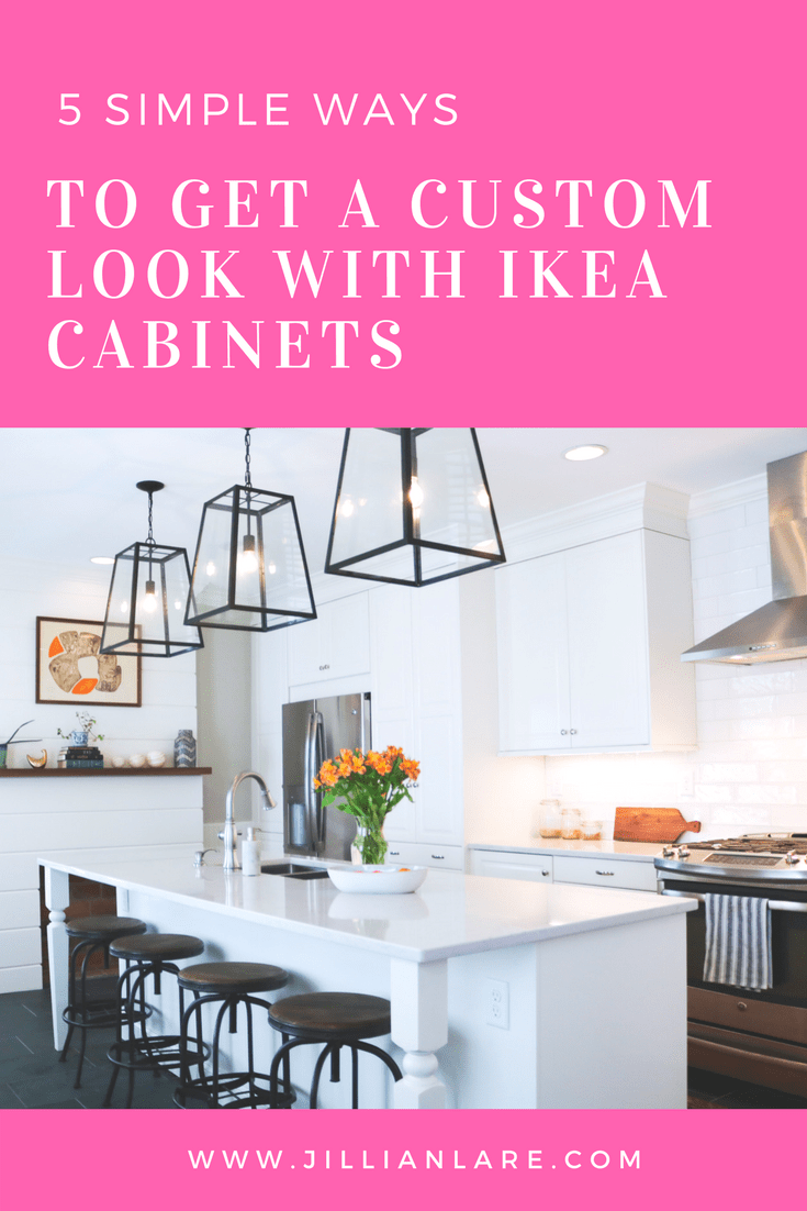 Five simple ways to make ikea cabinets look expensive kitchen