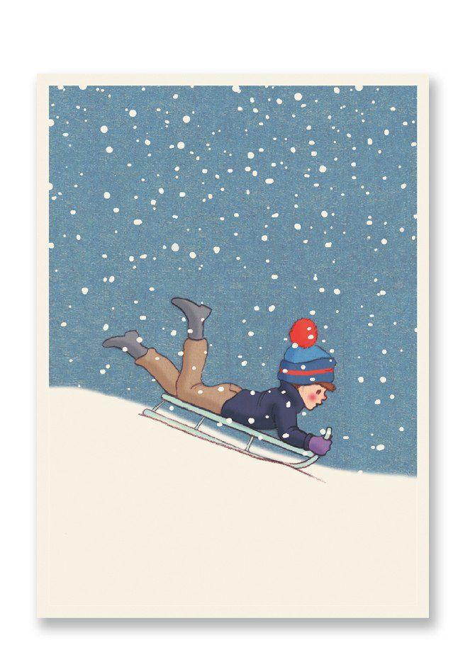 Belle and Boo Weeeeeeee! Christmas Postcard Sold in 12\u0027s Good