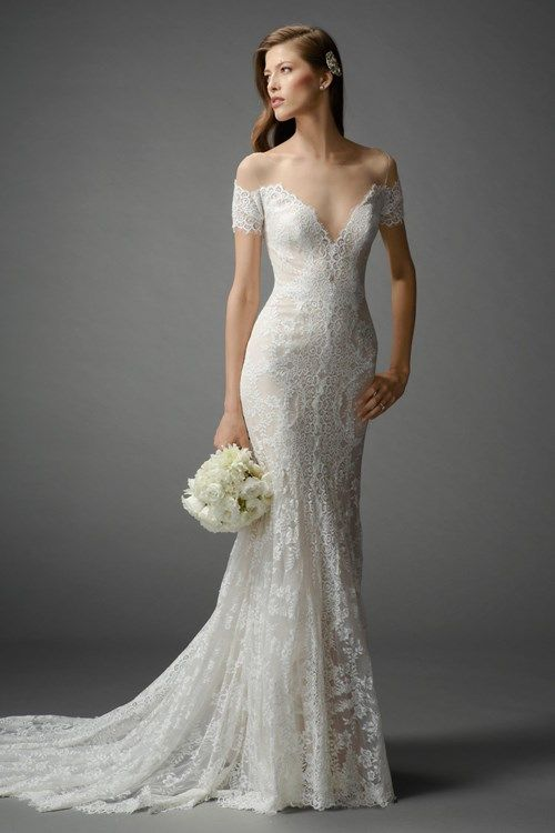 KleinfeldBridal.com: Watters: Bridal Gown: 33110503: Fit and Flare ...