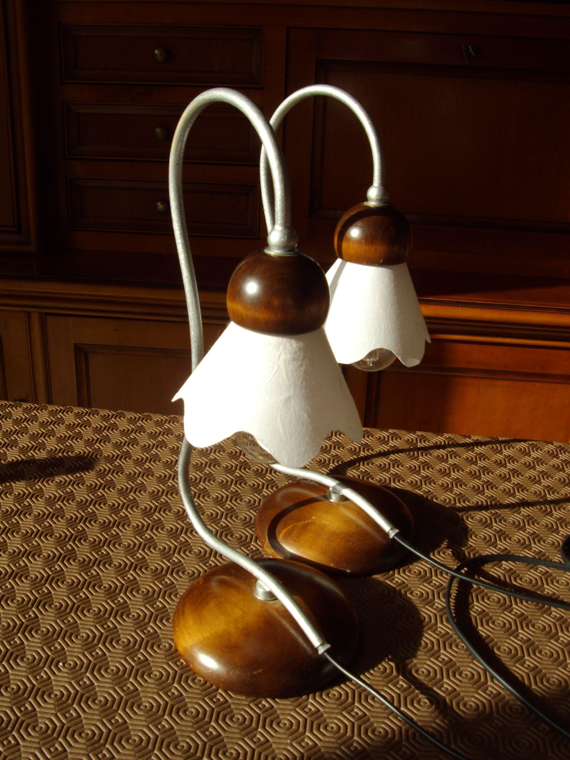 Customisation de lampe de chevet Instructions de...