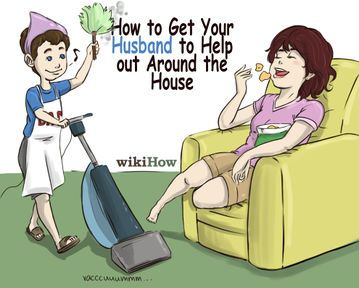 How To Get A Man To Help Around The House