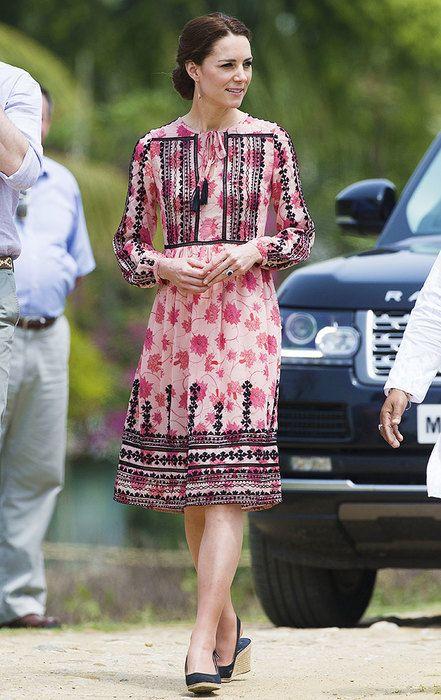 Кейт Миддлтон в Индии: 15 самых красивых платьев герцогини   Журнал Cosmopolitan