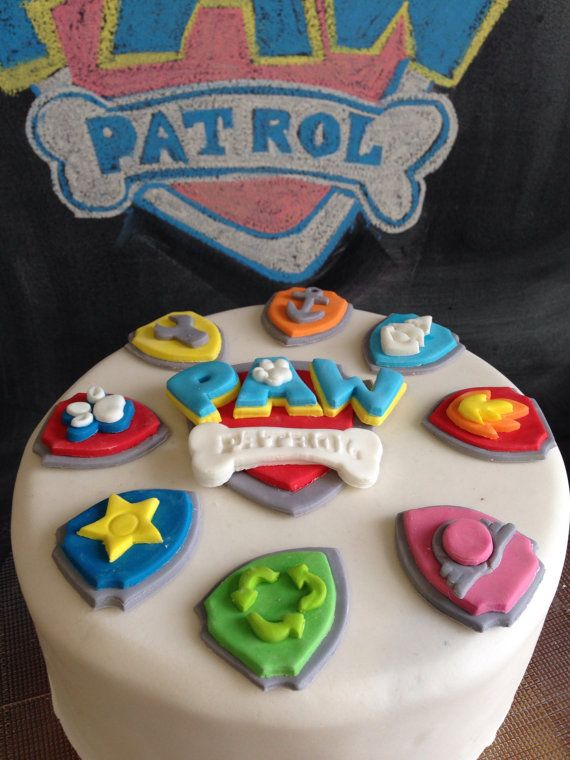 Paw Patrol Cake Topper Now With Tracker
