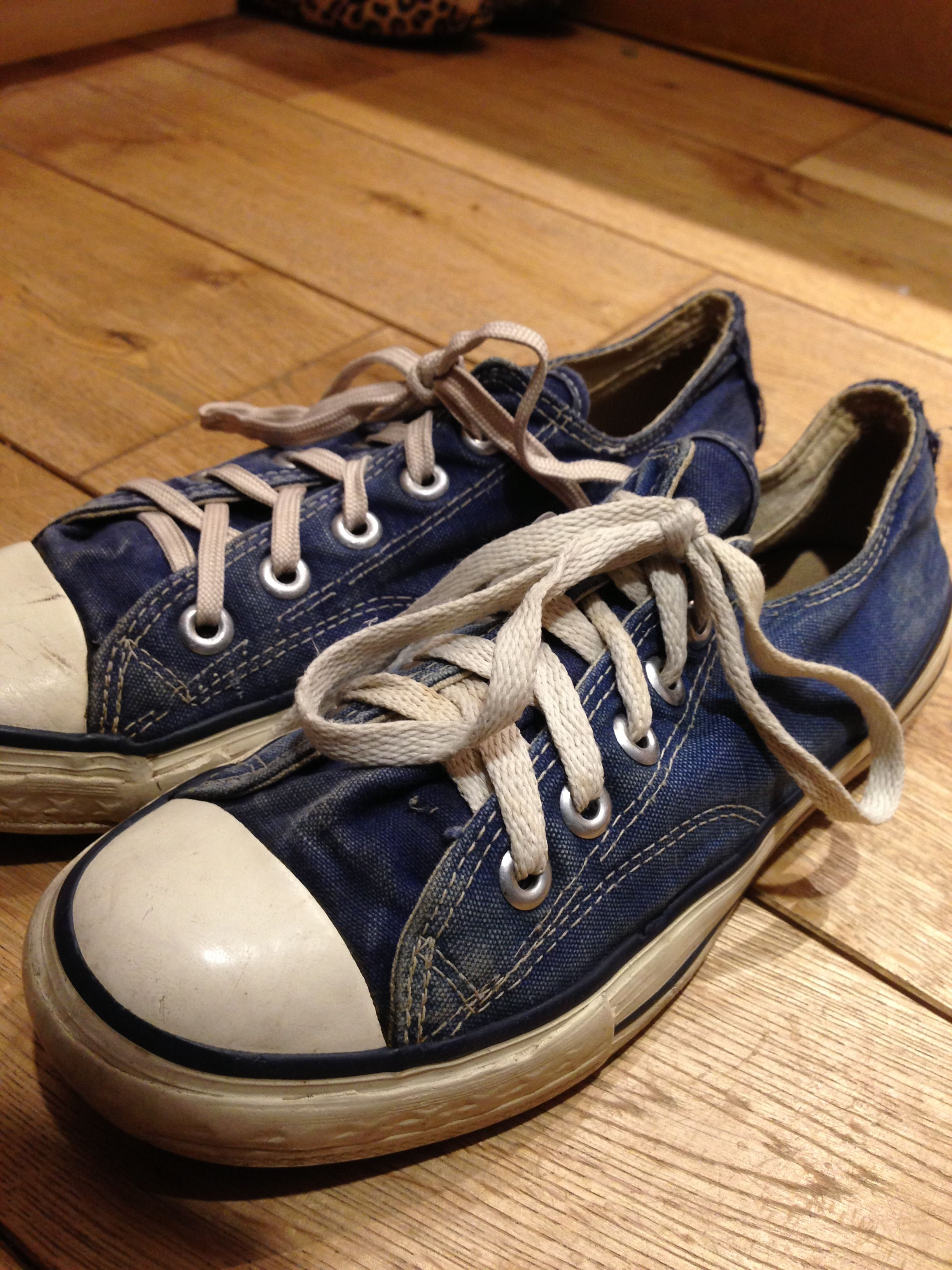 used vintage sneakers \