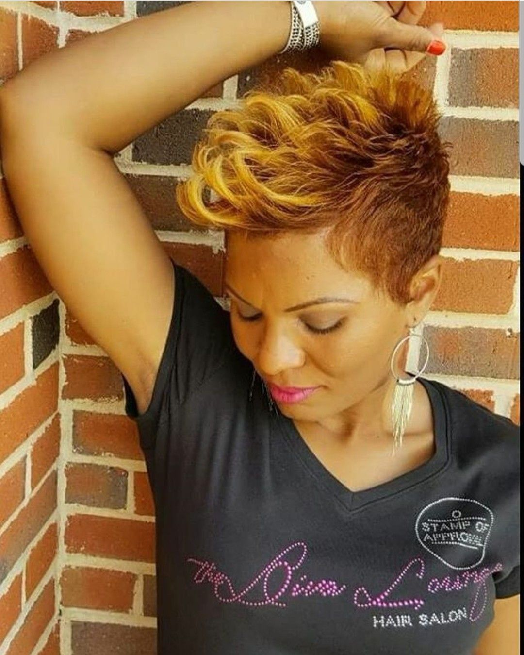 Salon Hairstyles For Short Hair The Diva Lounge Hair Salon Larnetta Moncrief Montgomery Alabama