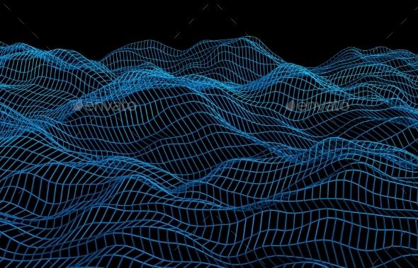 Abstract 3D Graphics  Renders  Abstract 3D Rendering Of Surface With Waves Abstract 3D Graphics  Renders  Abstract 3D Rendering Of Surface With Waves  Abstract 3D Graphic...