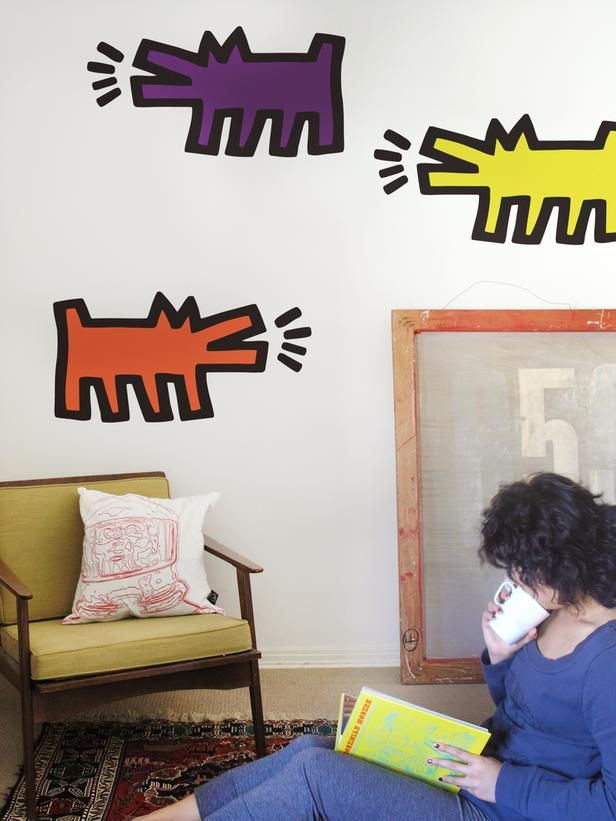 The Coolest Wall Decals for Kidsu0027 Rooms & The Coolest Wall Decals for Kidsu0027 Rooms | Wall decals Hgtv and Kids ...