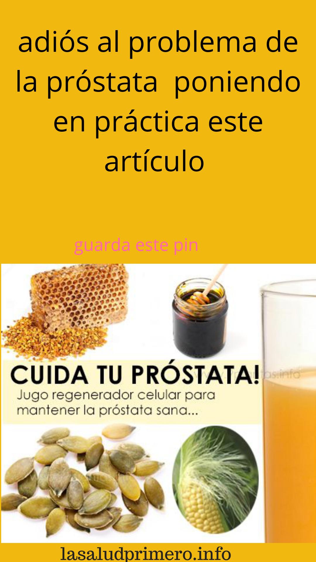 la mejor comida y bebida para promover la salud de la próstata