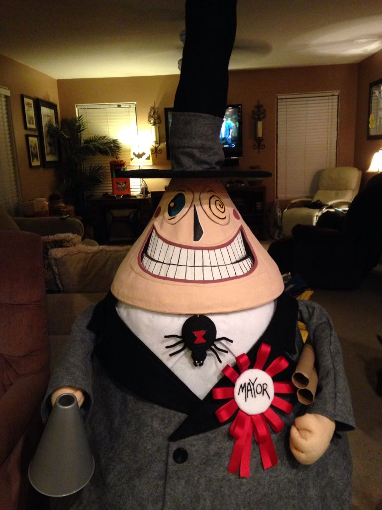 Diy Nightmare Before Christmas Mayor Of Halloweentow Nightmare