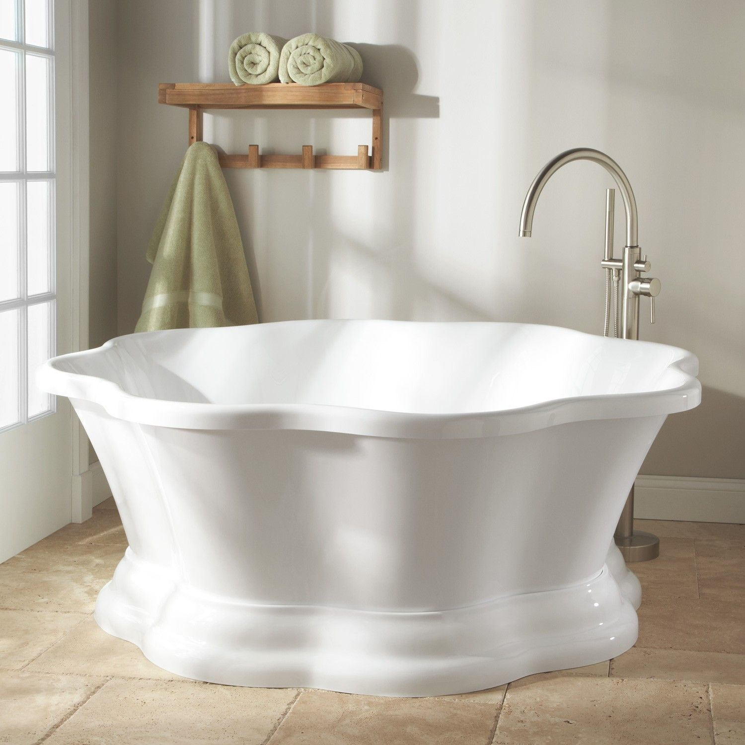 63 Halia Acrylic Freestanding Tub