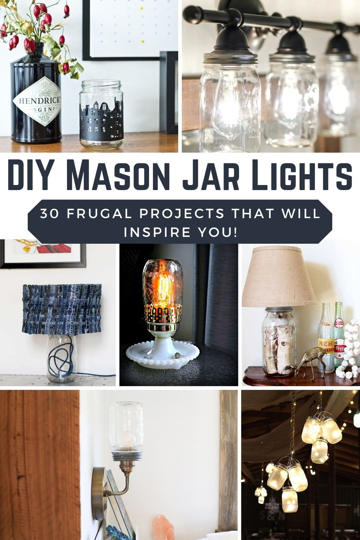 30 Best Diy Mason Jar Lights With Building Instructions Joyful Derivatives In 2020 Diy Mason Jar Lights Jar Lights Mason Jar Night Light