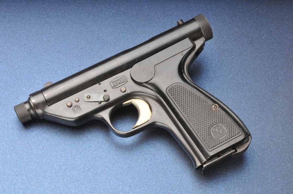 Lercker machine pistol - 20 round .25 ACP machine gun in your pocket, circa 1950 | Unusual ...