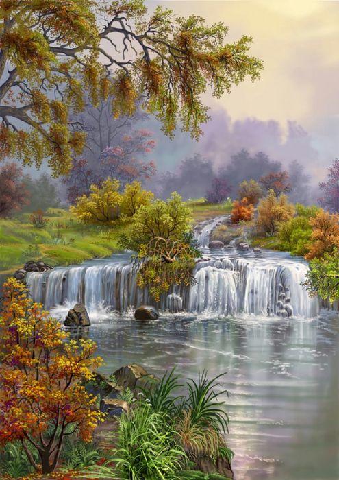 ~ waterfall