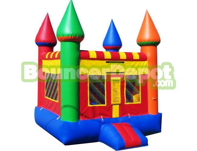 Bouncer Depot Has A Huge Selection Of Jumpers Bouncers And Inflatable Water Slides All Of Our Products Are M Moon Bounce Inflatable Bounce House Bounce House