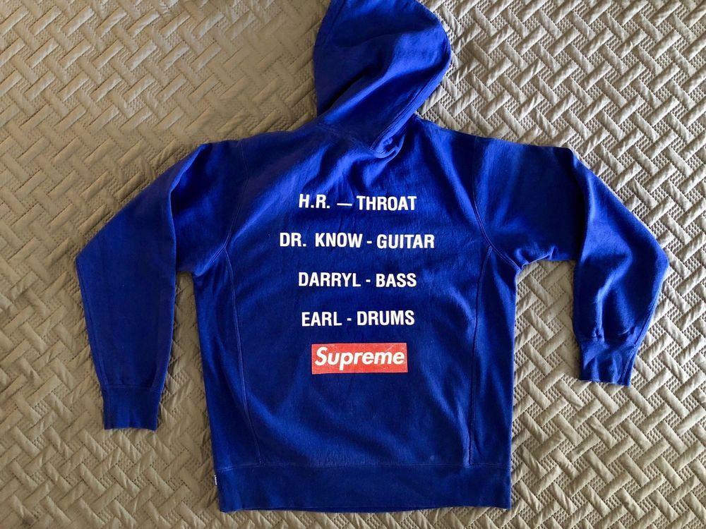 supreme bad brains hoodie
