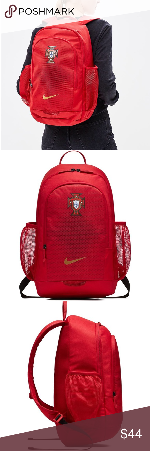 e24a1aa4682e Nike 2018-2019 Portugal Stadium Backpack 100% Authentic! Brand New With  Tags!