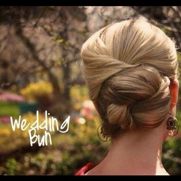 Wedding bun - @jennyfhair- #webstagram