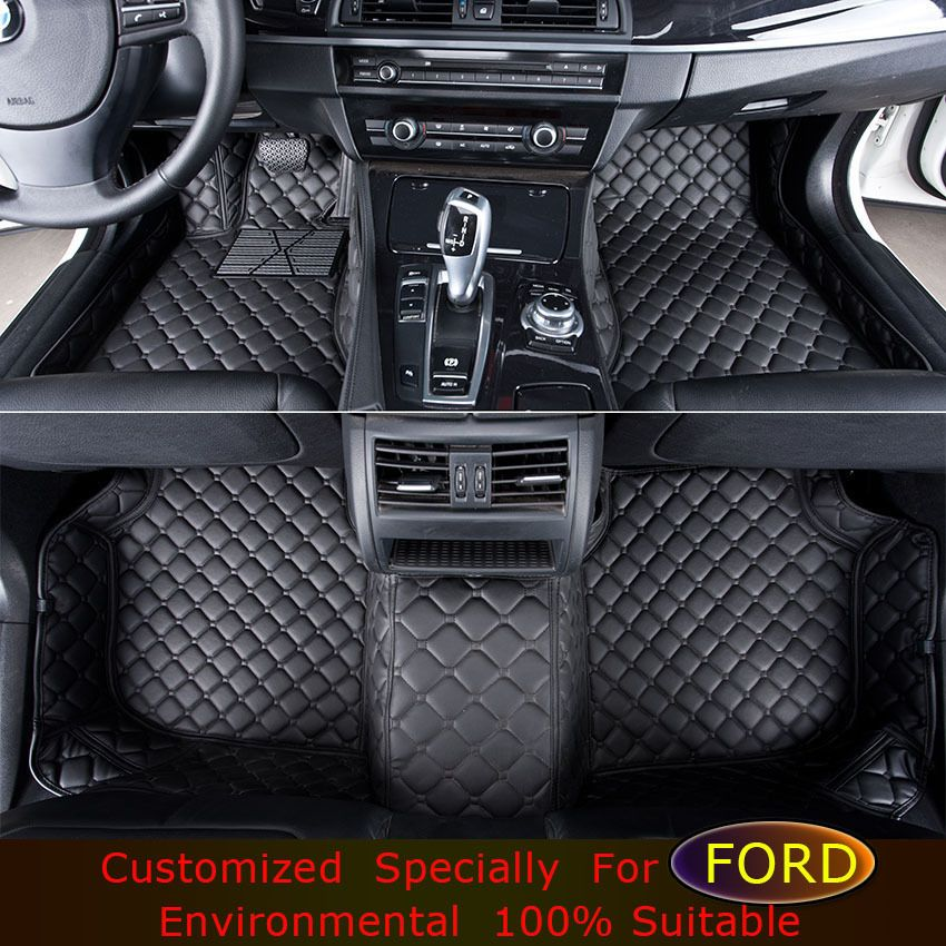 Car Foot Mats For Ford Focus Edge Explorer Kuga Ecosport Fiesta S