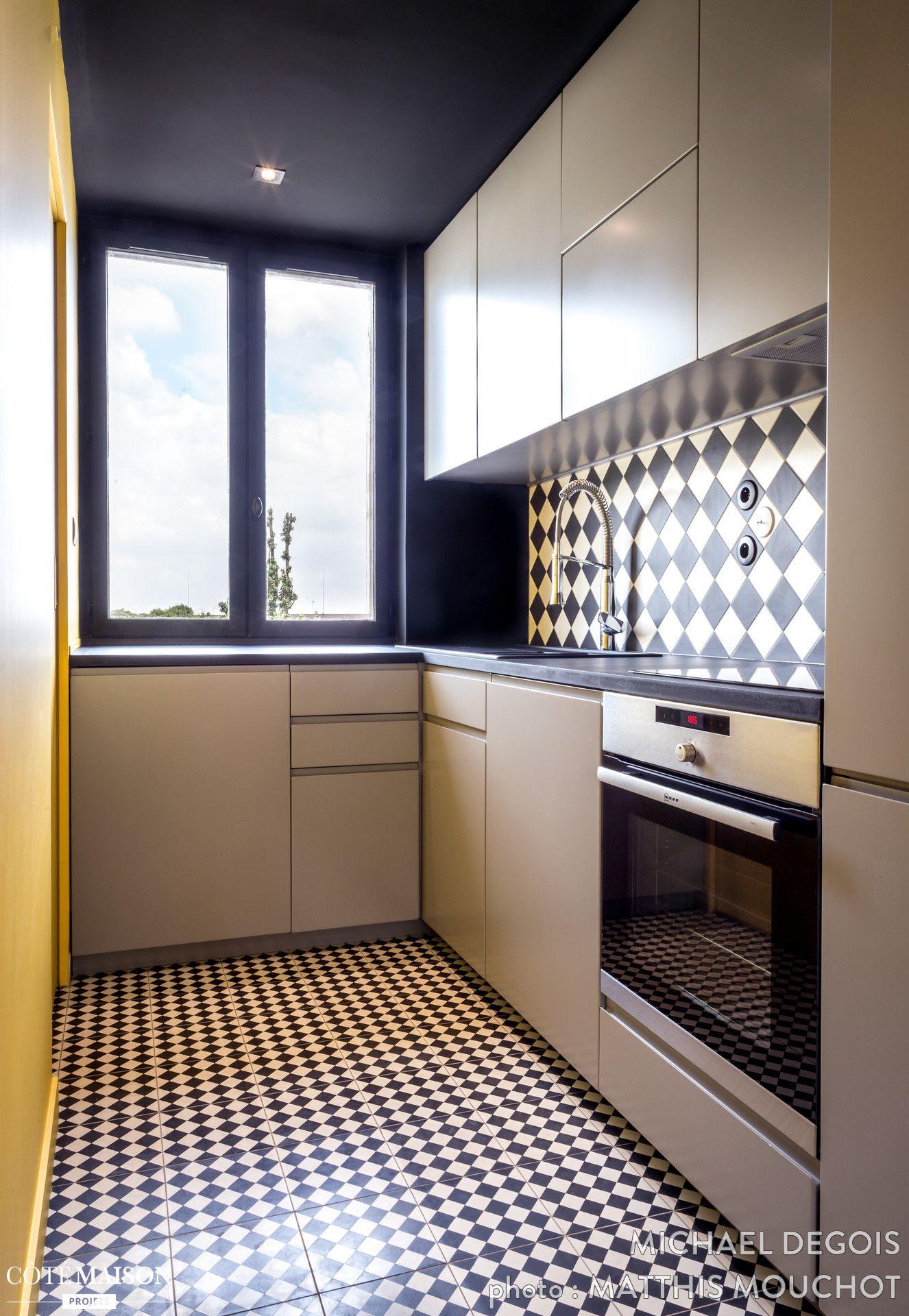 Rénovation d'un 63 m2 au cœur des Buttes-Chaumont à Paris, Michaël Degois - Côté Maison
