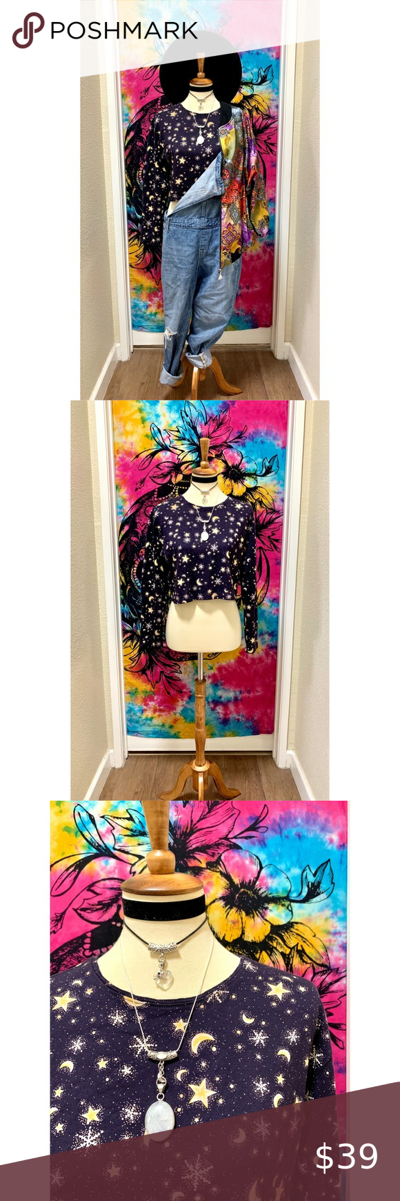 , Stylish moon star Vintage beauty This Vintage beauty moon crop top is ready for your every day style. Every inch is perfect with its mystical pattern …, My Pop Star Kda Blog, My Pop Star Kda Blog