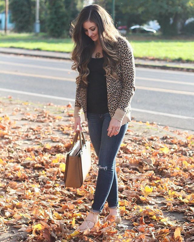 Leopard print for date night!  http://liketk.it/2pz1c @liketoknow.it #liketkit #ootn #fallstyle #fallfashion