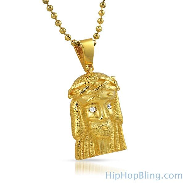 Clean micro jesus piece gold pendant 925 sterling silver jesus hiphopbling micro jesus pendants are worn by all the top rappers in the game and famous celebrities hiphopbling has just released these limited aloadofball Gallery
