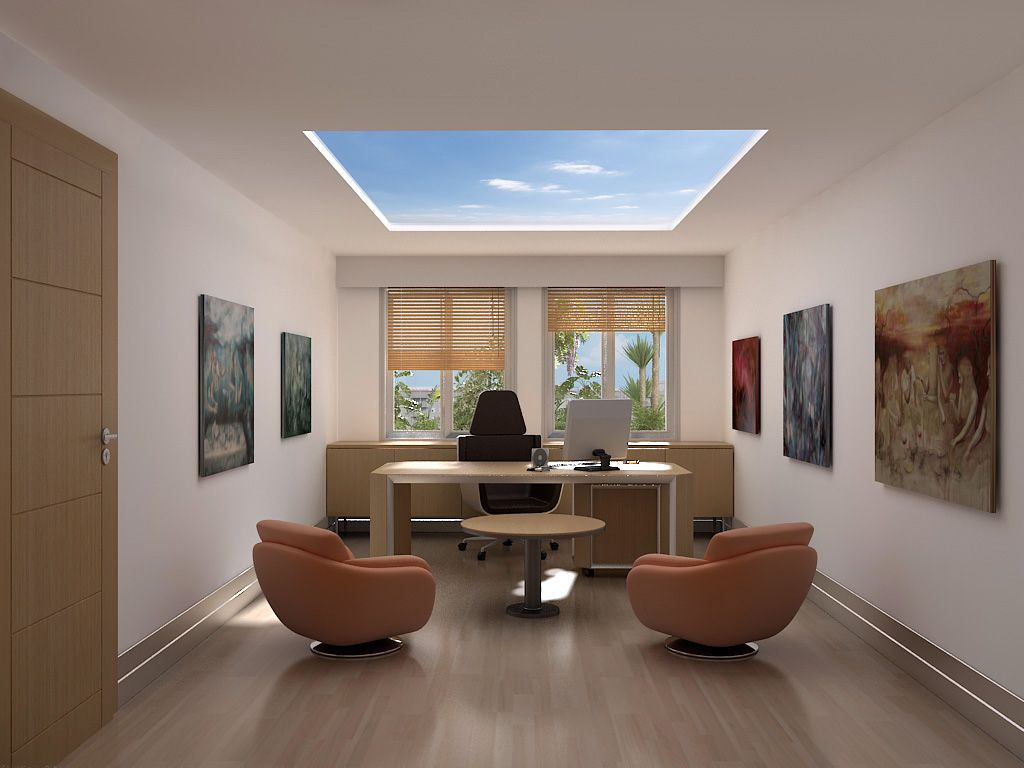 Home Office Layouts And Designs Concept 20 Home Offices You'd Rather Be Working In Now  Paint Ceiling .