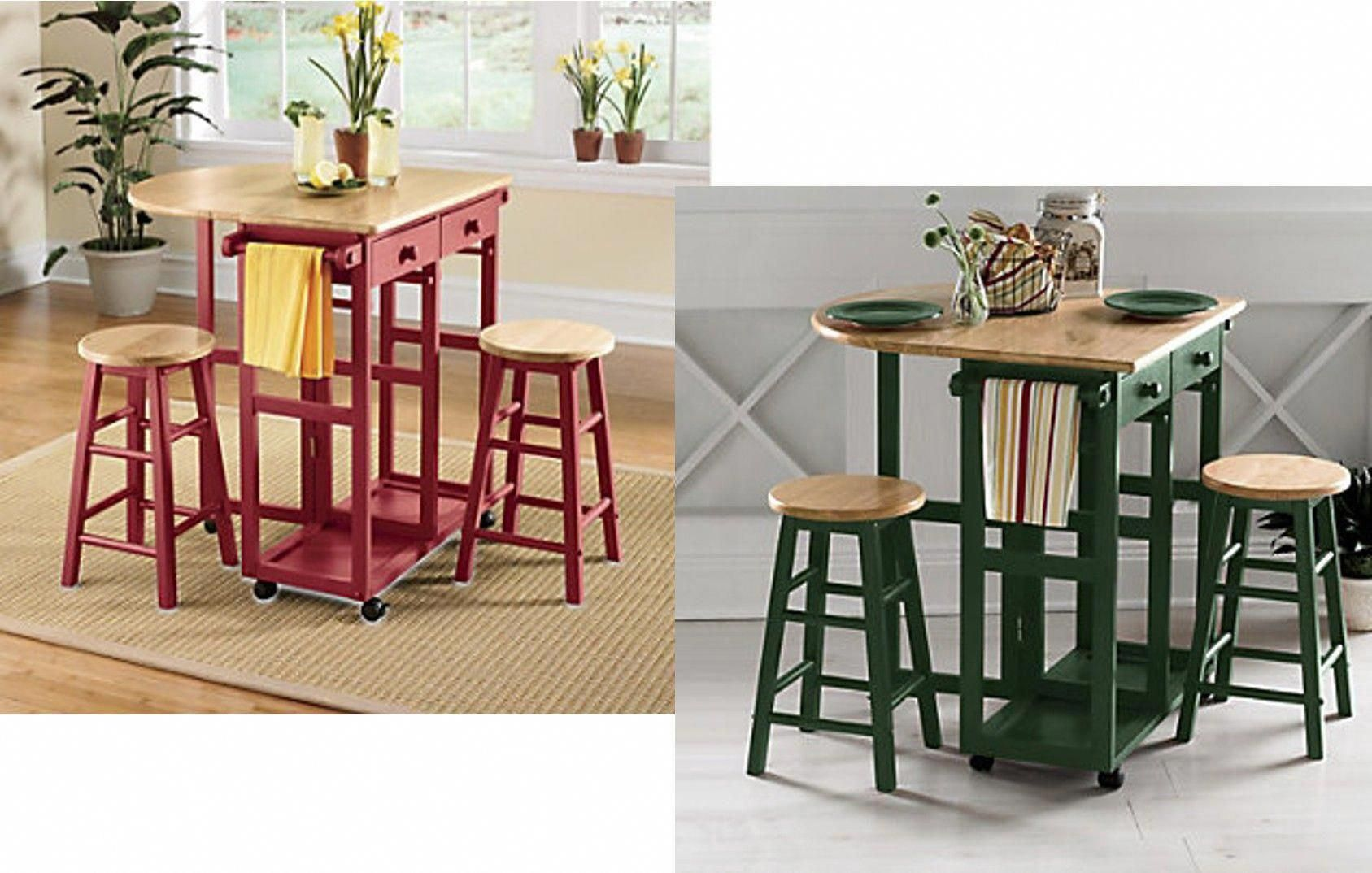 Love These Breakfast Bars With Drop Leaf Extension Versatile Movable Storable Use As A Kitchen Island Informal Bar Home Bar Decor Decor Home Bar Areas