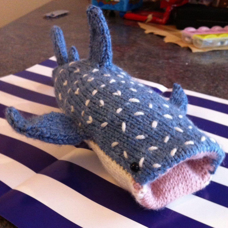 Shark Knitting Patterns | Whale sharks, Shark week and Shark