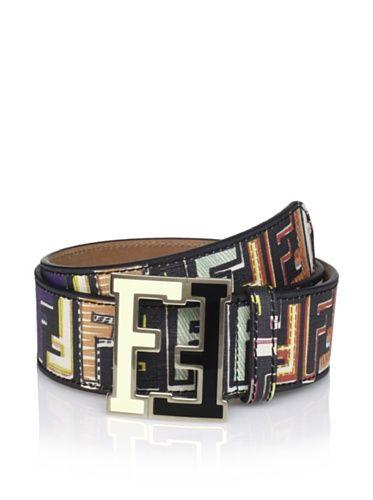 F Is Fendi logo belt - Black Fendi oXjXMKwdO