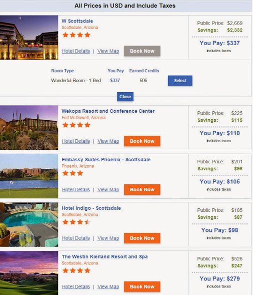 The Pic Below Is A Live Screen Shot Of Our Booking Engine Look