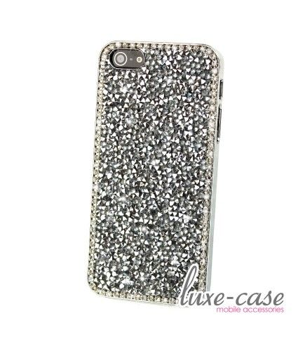 Luminous Crystal iPhone 5S Case in Silver