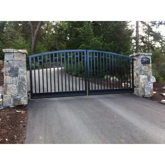 17 Best images about Custom Aluminum Gates on Pinterest | Trees, Beautiful  and Rivers