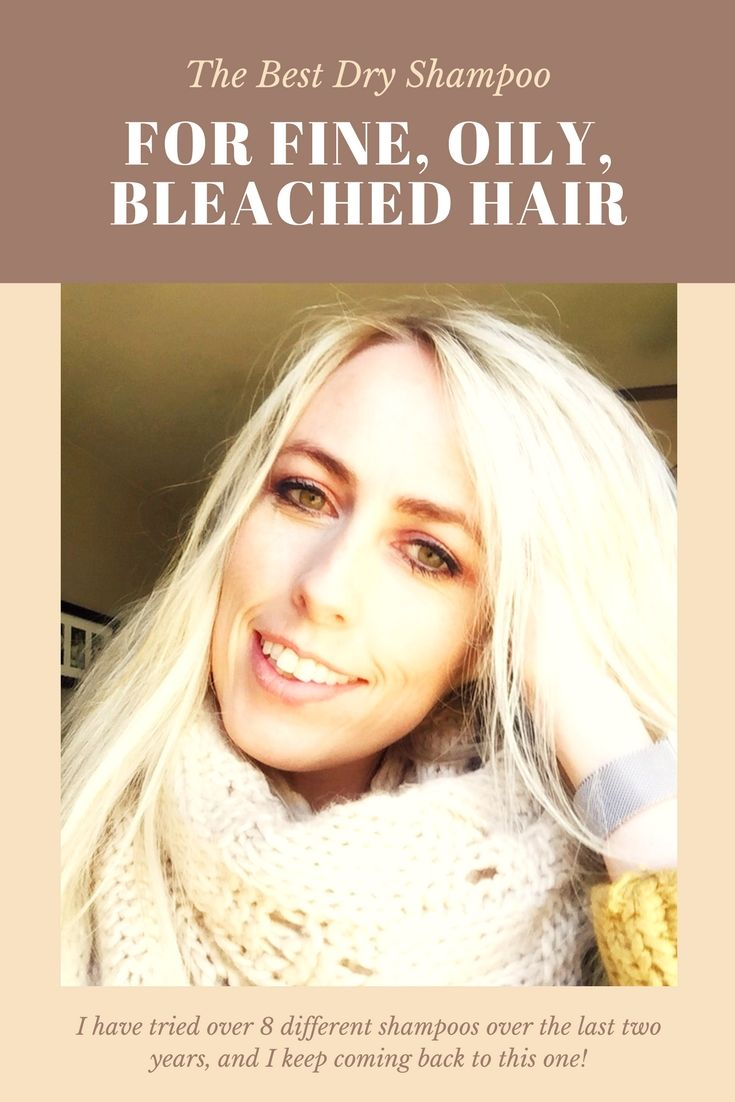 The Best Dry Shampoo For Fine Oily Blonde Hair Best Dry