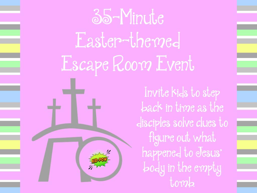 Empty Easter Escape Room Slide7 In 2020 Escape Room Escape Room For Kids