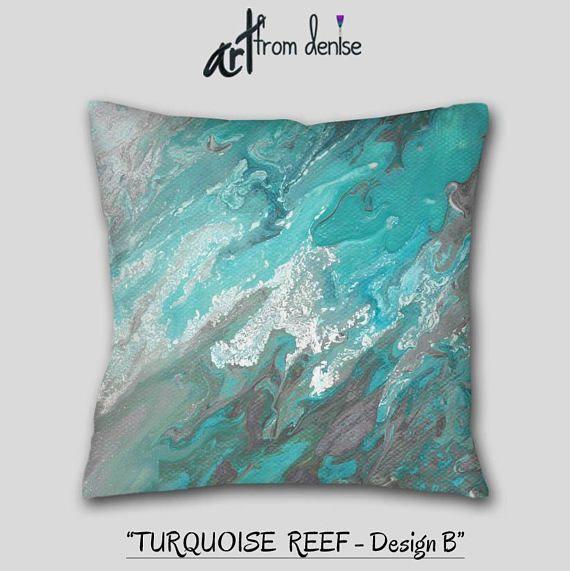 blue white gray coastal throw pillows