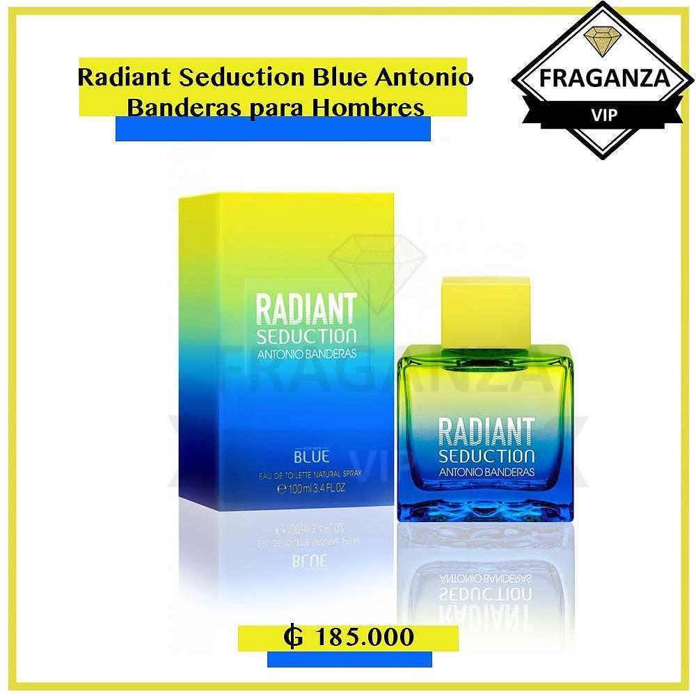 0ec754bc7 PERFUME PARA HOMBRES Radiant Seduction Blue Antonio Banderas para Hombres  La nueva fragancia de Antonio Banderas