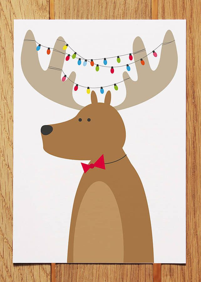 reindeer with lights | xmass | Pinterest | Xmas