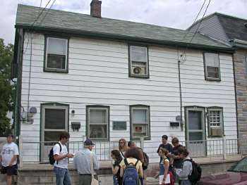 The Breckenridge St House Jennie Wade Lived In At The Time Of The Battle She Was Killed In Her Sis Civil War Sites Gettysburg Battlefield Civil War Generals
