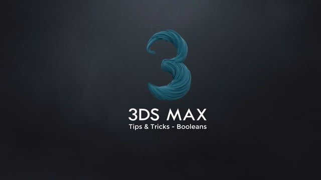 3ds Max Tips And Tricks Booleans 3ds Max 3ds Max Tutorials Max
