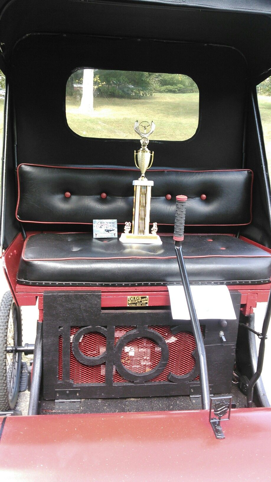 Red Boiling Springs Tennessee Car Show, 2nd Place