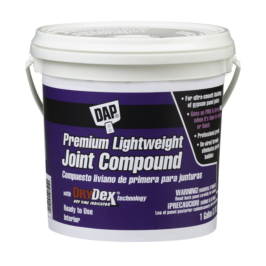 Dap Drydex 1 Gallon Premixed Lightweight Drywall Joint Compound 10120 In 2020 Drywall Repair Paint Colors For Home Drywall